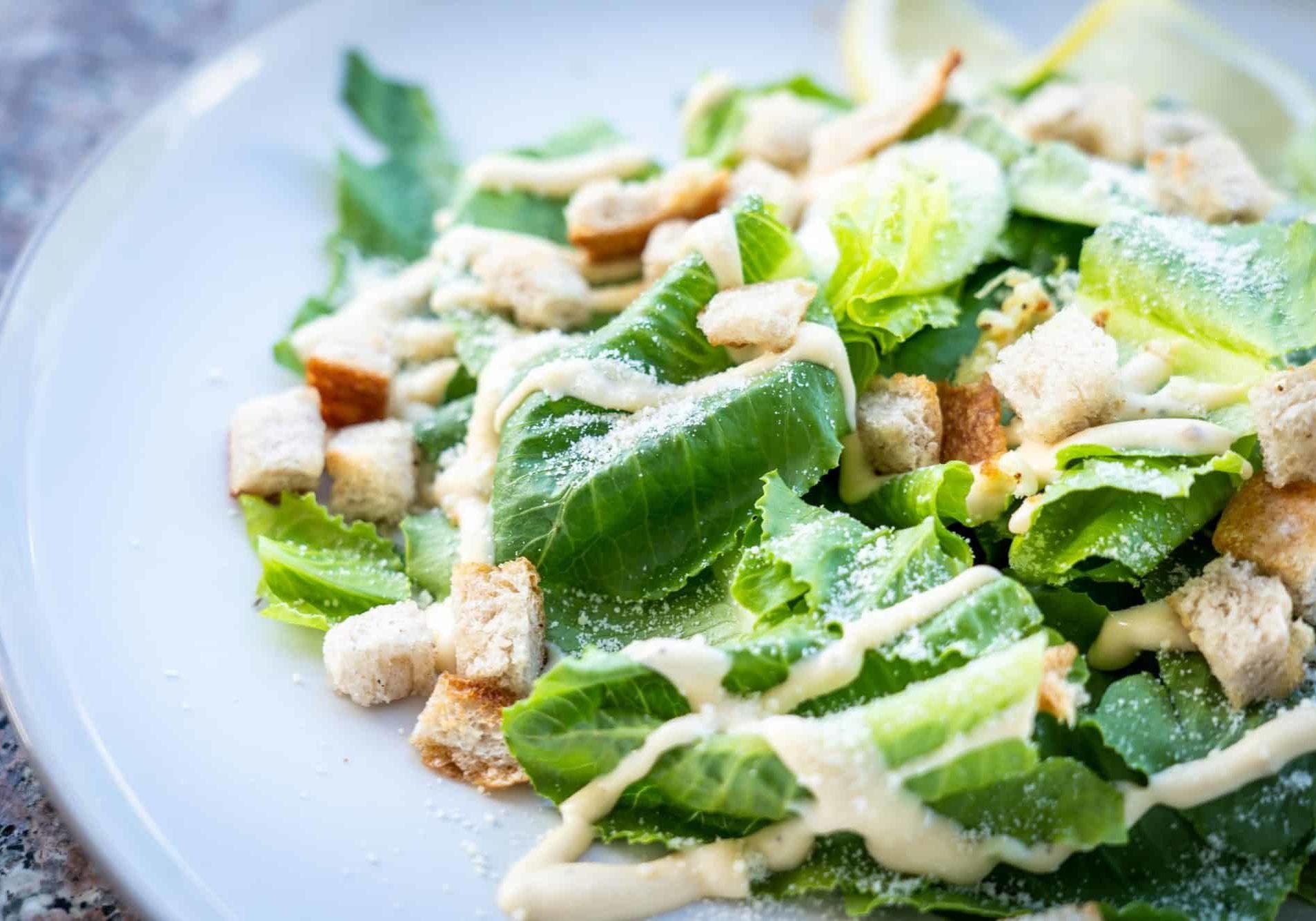 caesar salad seafood side dish
